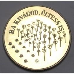 100 forint 1984 PP - Forestry for development