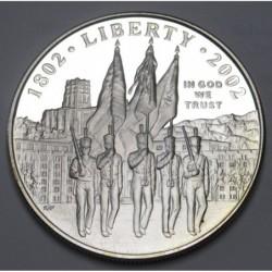 1 dollar 2002 W PP - West Point