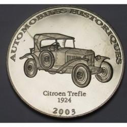 10 francs 2003 PP - Citroen Trefle 1924