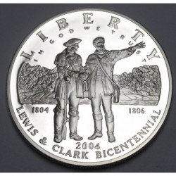 1 dollar 2004 P PP - Expedition of Lewis and Clark