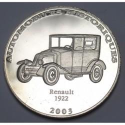 10 francs 2003 PP - Renault 1922