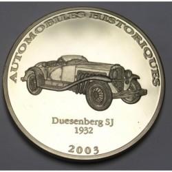 10 francs 2003 PP - Duesenberg SJ 1932
