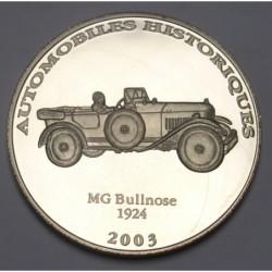 10 francs 2003 PP - MG Bullnose 1924