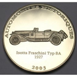 10 francs 2003 PP - Isotta Fraschini Typ 8 A 1927
