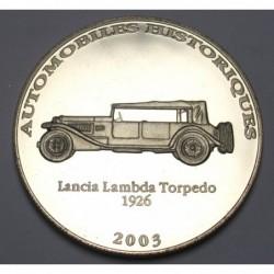 10 francs 2003 PP - Lancia Lambda Torpedo 1926