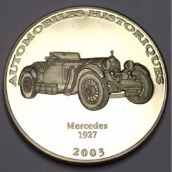 10 francs 2003 PP - Mercedes 1927