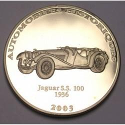 10 francs 2003 PP - Jaguar S.S 100 1936