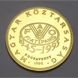 100 forint 1995 PP - FAO - TRIAL