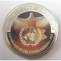10 dollars 2001 PP - Moments of freedom - Foundation of the United Nations 1945