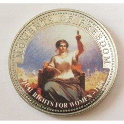 10 dollars 2001 PP - Moments of freedom - Equal Rights for women 1866