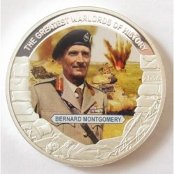 1 dollar 2014 PP - The greatest warlords of history - Bernard Montgomery