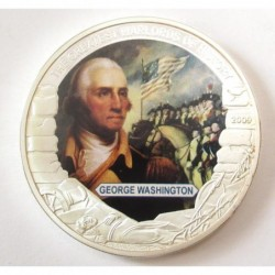 5 dollars 2009 PP -The greatest warlords of history - George Washington