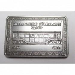 2000 forint 2021 - Millenium underground railway
