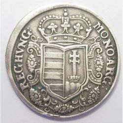 Ferenc II. Rákóczi 1/2 thaler 1705 KB