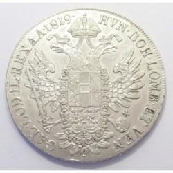 Franz II. 1 thaler 1819 A