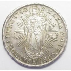 Maria Theresia 1 thaler 1742 KB