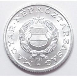 1 forint 1987