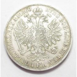 1 florin 1860 A