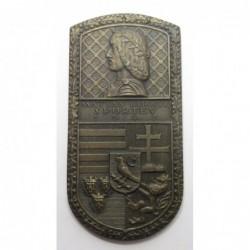 Gyula Arató: King Matthias Sports Year 1943 bronze awardmedal