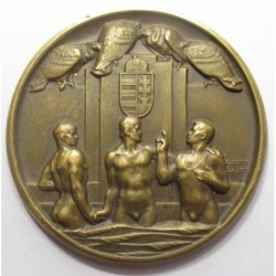 Lajos Greff: For the 25th anniversary of the Hungarian Swimming Association 1907-1932