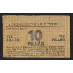 10 fillér 1919 - Általános Fogyasztási Szövetkezet - Csepeli Csuszda