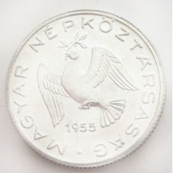 10 fillér 1955