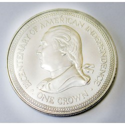 1 crown 1976 - 200th anniversary of the American independence