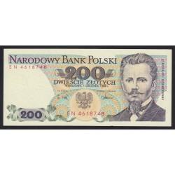 200 zlotych 1988