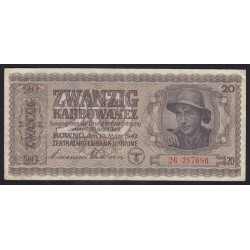 20 karbowanez 1942