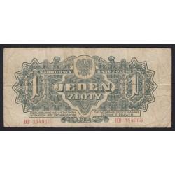 1 zloty 1944
