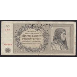 50 korun 1944 - SPECIMEN