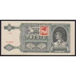 500 korun 1945 - SPECIMEN