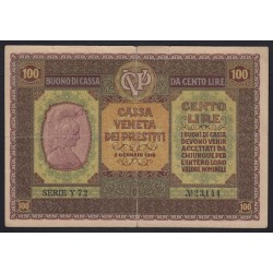 100 lire 1918