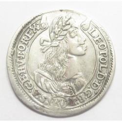 Leopold I. XV kreuzer 1675 KB