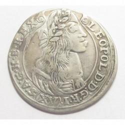 Leopold I. XV kreuzer 1677 KB