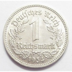 1 reichsmark 1934 D