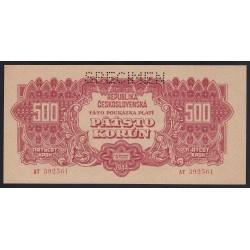 500 korun 1944 - SPECIMEN