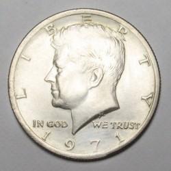 half dollar 1971