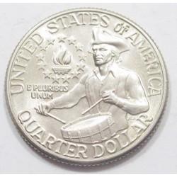 quarter dollar 1976 D - Declaration of Independence