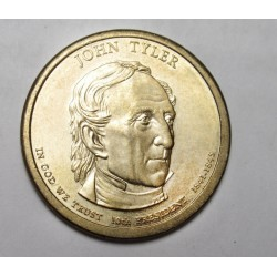 1 dollar 2009 P - John Tyler