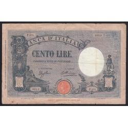 100 lire 1933