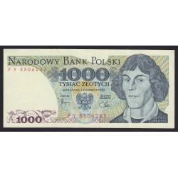1000 zlotych 1982