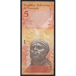 5 bolivares 2014