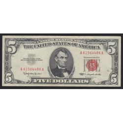 5 dollars 1963