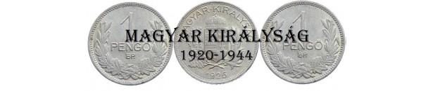 A: Magyar Királyság 1920-1944